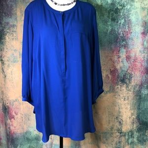 ❄️❄️ JM Collection Royal blue Slip Shirt  ❄️❄️